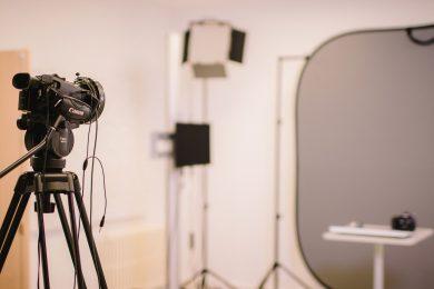 El estudio de grabación de UBUCEV