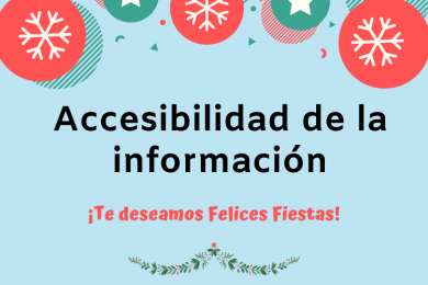 Accesibilidad de la información en tus asignaturas