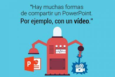 Convertir Power Point en vídeo