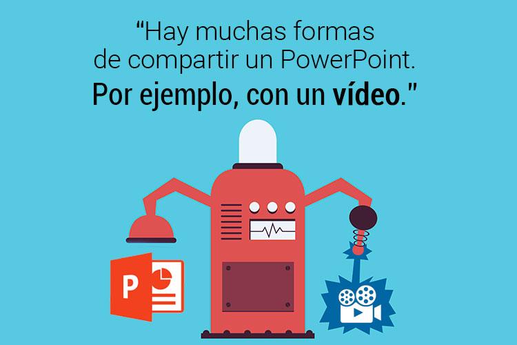 Convertir PPT a vídeo