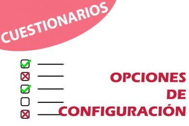 Configuración de cuestionarios en UBUVirtual