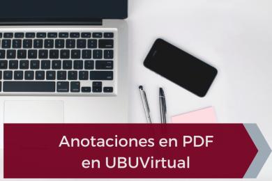 Feedback sencillo y eficiente con las anotaciones en PDF