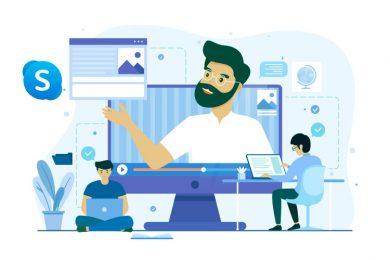 ¿Cómo resolver dudas y supervisar un examen con Skype Empresarial?