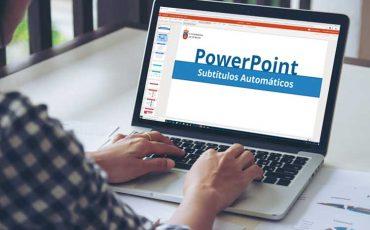 Crear subtítulos en tiempo real en PowerPoint