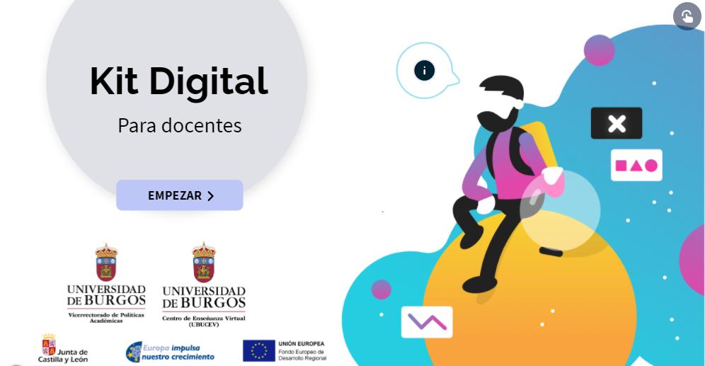 Portada del Kit Digital Docente - Universidad de Burgos