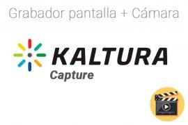 Cómo utilizar la grabadora de escritorio Kaltura Capture
