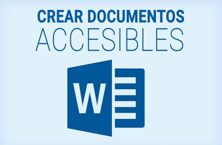 Crear documentos digitales accesibles con MS Word