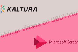 Publicar vídeos en UBUVirtual