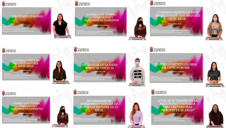 Trabajos en vídeo para el alumnado